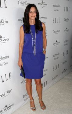 Courtney Cox in 5 elegant red carpet outfits