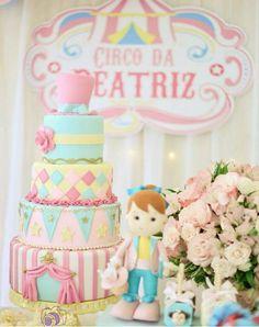 circo decoração de festa