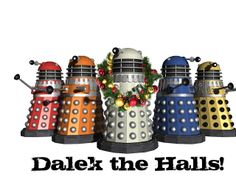 Doodle Craft...: Doctor Who Inspired Christmas Card Freebies!