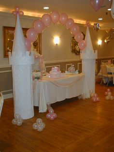 Feed Pictures - Bounce Arena Parties New Windsor Ny 12553 Balloons Home Of Licensed Disney Princess Birthday, Cinderella Birthday, Princess Theme, Baby Shower Princess, Princess Castle, 1st Birthday Parties, Girl Birthday, Princesse Party, Princess Balloons
