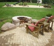 Gallery | Ciminelli's Landscape Services, Inc. Outdoor Patio Pavers, Brick Paver Patio, Front Door Steps, Landscape Services, Retaining Walls, Outdoor Furniture Sets, Outdoor Decor, Backyards, Curb Appeal