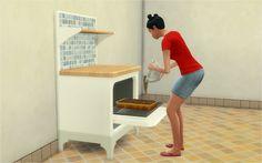 Sims 4 CC's - The Best: Bakery Baker's Station by Veranka