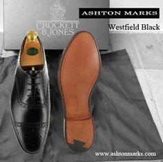 Men Dress, Dress Shoes, Crockett And Jones, Exclusive Collection, Oxford Shoes, Lace Up, Black, Fashion, Moda