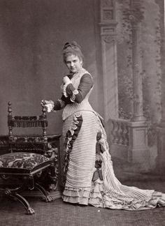 Mlle Meyer. Circa 1877