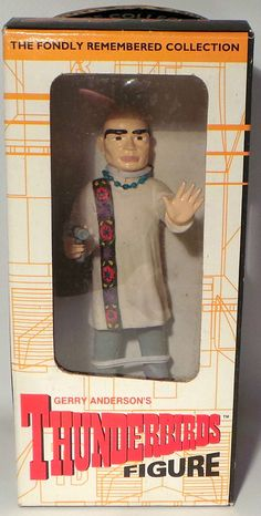 THUNDERBIRDS : THE HOOD TRACY BOXED FIGURE MADE IN 1998 FOR AOSHIMA (MN) Pop Culture, Films, Baseball Cards, Tv, Movies, Television Set, Cinema, Movie, Film