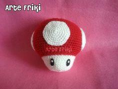 Mario Bros Mushroom - Arte Friki