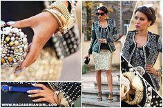 Tamara, autorka blogu Macademian Girl, wybrala do swojej stylizacji bransoletkę By Dziubeka. Więcej zdjęć na www.macademiangirl.com #bydziubeka #jewelry #macademiangirl