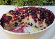 Krupicový nákyp s lesním ovocem - Recept Acai Bowl, Oatmeal, Food And Drink, Gluten Free, Cooking Recipes, Pudding, Breakfast Ideas, Acai Berry Bowl, The Oatmeal
