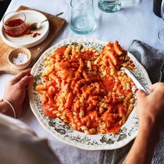 Chef's Recipe: Pasta with Roasted Red Pepper Sauce by Allison Arevalo