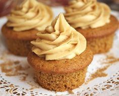 These vegan maple cupcakes are dairy-free, egg-free and refined sugar-free! Even the frosting is sweetened purely with maple syrup.