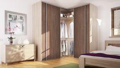 armadio ad angolo termine a smusso | arredo camera da letto | Pinterest