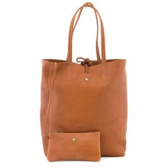 3429d63c975 The Mariel Tan Leather Shopper Bag Shopper Bag