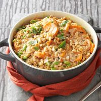 Coconut Sweet Potatoes and Wild Rice  Recipe - Anything with coconut milk, curry, and peanut butter has to be good!