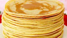 Easy Crepe Recipe, Crepe Recipes, Tea Recipes, Mexican Food Recipes, Dessert Recipes, Cooking Recipes, Banana Pudding Recipes, Star Food, Best Dishes