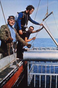 Jaws (1975) - Roy Scheider, Richard Dreyfuss and Robert Shaw   aka  Martin, Hooper and Quint!