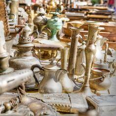 - Affordable Date Idea: Flea Market Treasure Hunt -