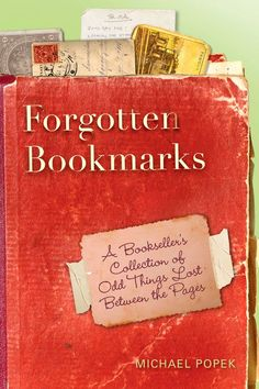 Forgotten Bookmarks: The Secret Life of Second-Hand Books