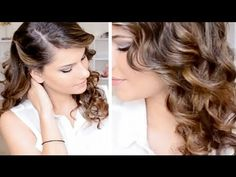Romantic Ringlet Curls Hair Style_love this style