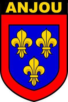 ANJOU COAT OF ARMS HOODIE Medieval, France, Ferrari Logo, Crests, Coat Of Arms, Genealogy, Knight, Hoodie, History
