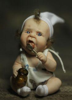 design-dautore.com: Hand-Made Babydolls By Elena Kirilenko