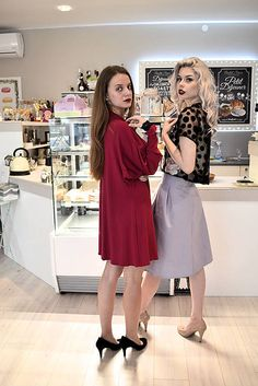 VivienMihalish / Cyklámenky - šaty
