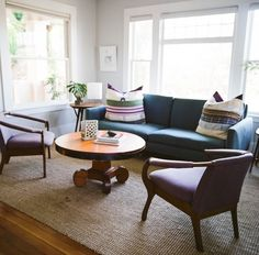 I want this rug for the lounge in my house > House Call with Los Angeles Jeweler Kathleen Whitaker, Echo Park, Living Room | Remodelista
