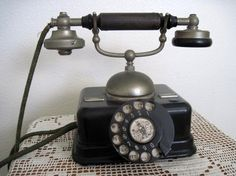antique german rotary phone