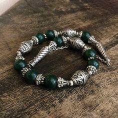 Tribal necklace . Yemen bedouin jewelry. Ethnic necklace Vintage necklace. Arabian Jewelry. Middle Eastern necklace. by Omanie on Etsy