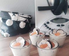 Rezept Mandarinen-Quark-Creme mit Schokoküssen von EmmaErdbeerBLOG - Rezept der Kategorie Desserts