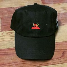 Toy Machine Logo Embroidered Dad Hat