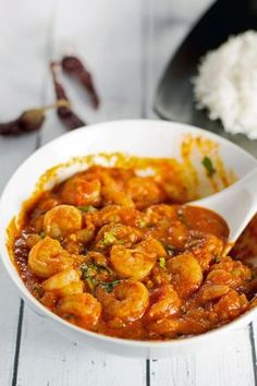 Prawn (Shrimp) and Spicy food lovers - Here's a dish that is a perfect treat for you - Prawns Balchao. It is a fiery dish that finds its origins in Goa. Prawns are stir fried first and then added to a pickled curry sauce to create a dish that makes your taste buds tingle and leaves you asking for more.