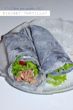 blue pea tortillas homemade