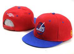 NHL Winnipeg Jets TV Snapback Hat 01 61427f36fb02