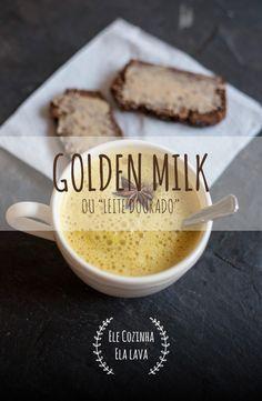 """Golden Milk ou """"Leite Dourado"""", uma bebida reconfortante"""