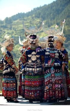 Xijiang Guizhou China: Miao traditional festival