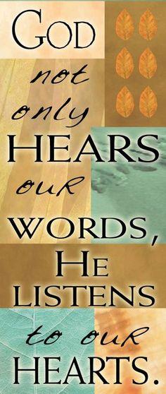 JOB 23:10, JEREMIAH 17:10, ROMANS 8:27