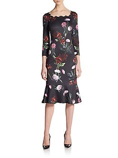 Go Softly Patio Denim Red Flower Patio Dress Dillards