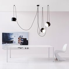Aim set of 3 Pendant lightt Flos - einrichten-design.de