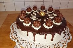 Die 10 Besten Bilder Von Ferrero Rocher Torte Sweet Recipes