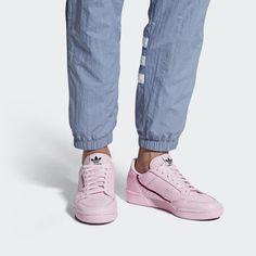 big sale ee221 2add8 Zapatilla Continental 80 Clear Pink   Scarlet   Collegiate Navy B41679