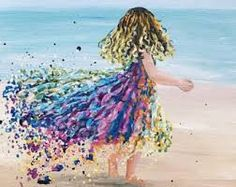 Image result for 3 little girls on the beach -images