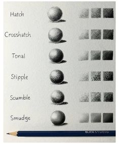 drawing techniques shading
