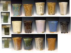 The University of Montana Clay and Glaze; 17 glaze recipes tested and evaluated