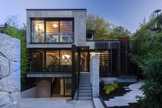 Cloister House in Vancouver by Measured Architecture Inc //