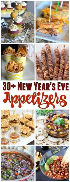 Throwing a New Year's Eve party or just need a few fresh ideas, I have you covered. Check out these 30 appetizers!