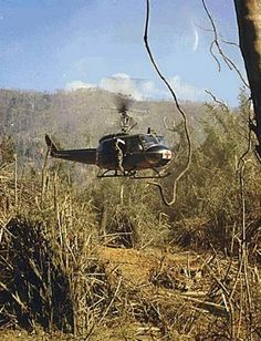A UH-Medevac Helicopter 1969