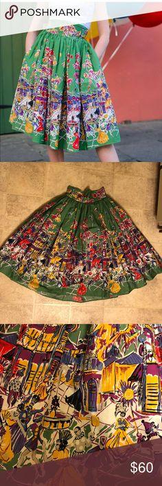 Spotted while shopping on Poshmark: Trashy Diva Carnival Swing Skirt, Size 2! #poshmark #fashion #shopping #style #Trashy Diva #Dresses & Skirts