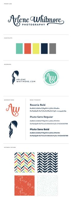 Small Business Branding and Identity Design for Arlene Whitmore Photography