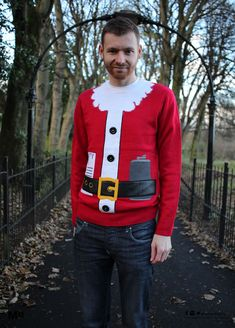 Worst Christmas jumper?? #RUL12AoC Christmas Jumpers - Bad Santa Outfit