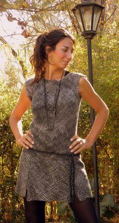 vestidos tejidos a telar - Buscar con Google
